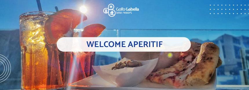 Welcome Aperitif at Golfo Gabella Lake Resort